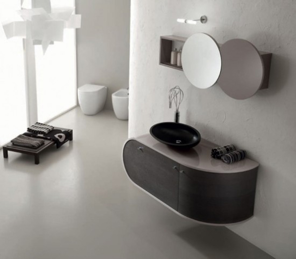 Black And White Bathroom Furniture: Black And White Bathroom Furniture
