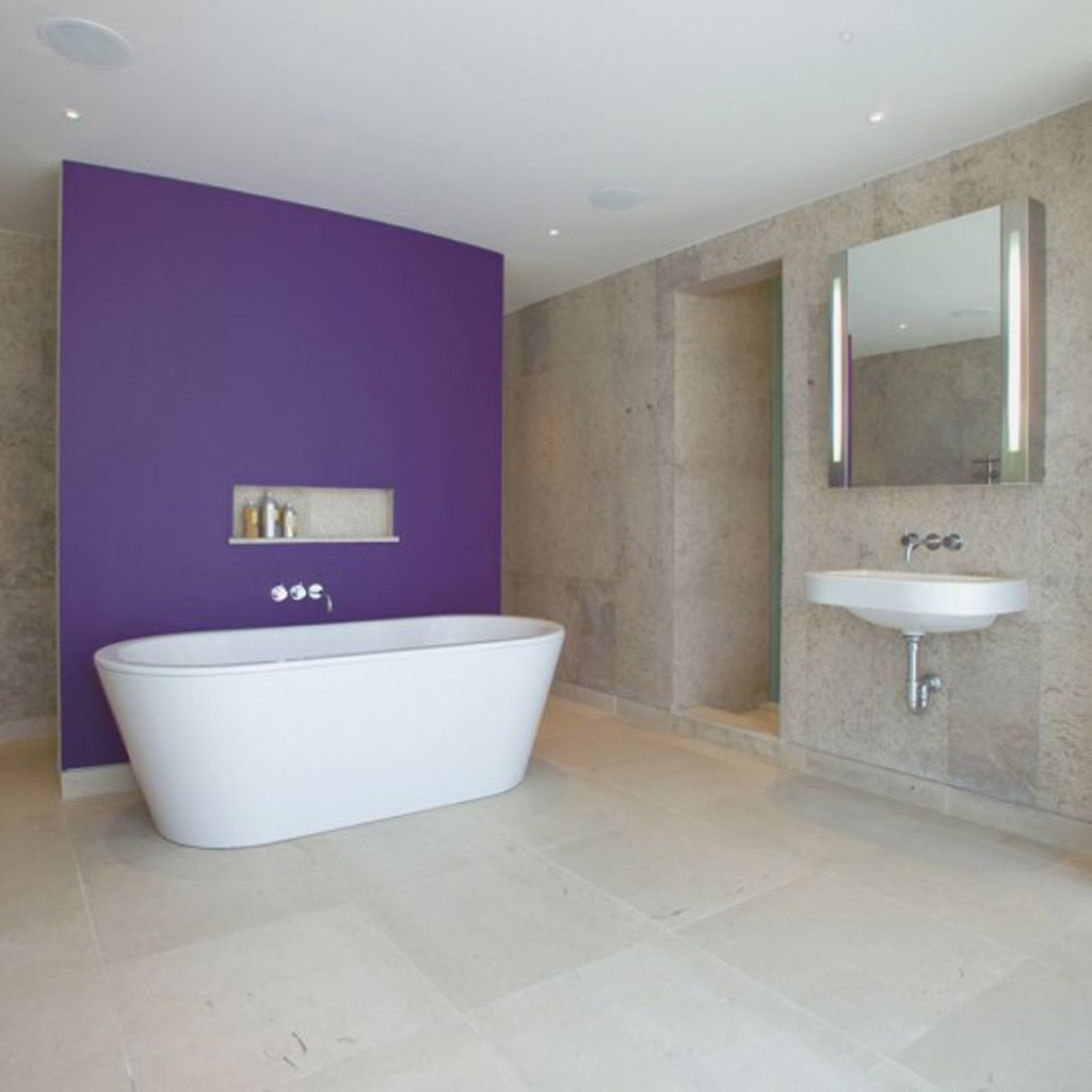 Simple bathroom designs Simple contemporary bathroom design