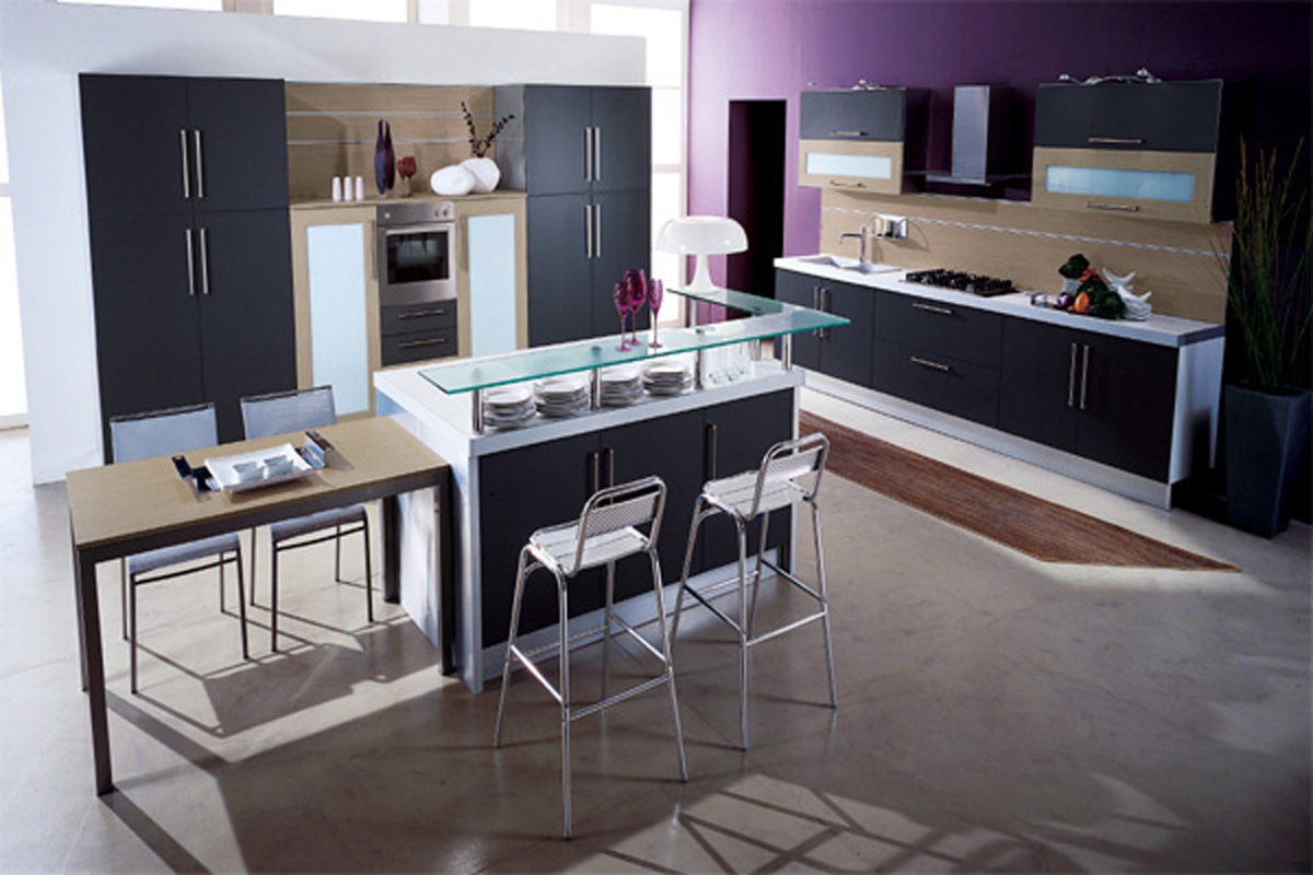 Space saving modern kitchen ideas for Modern kitchen images
