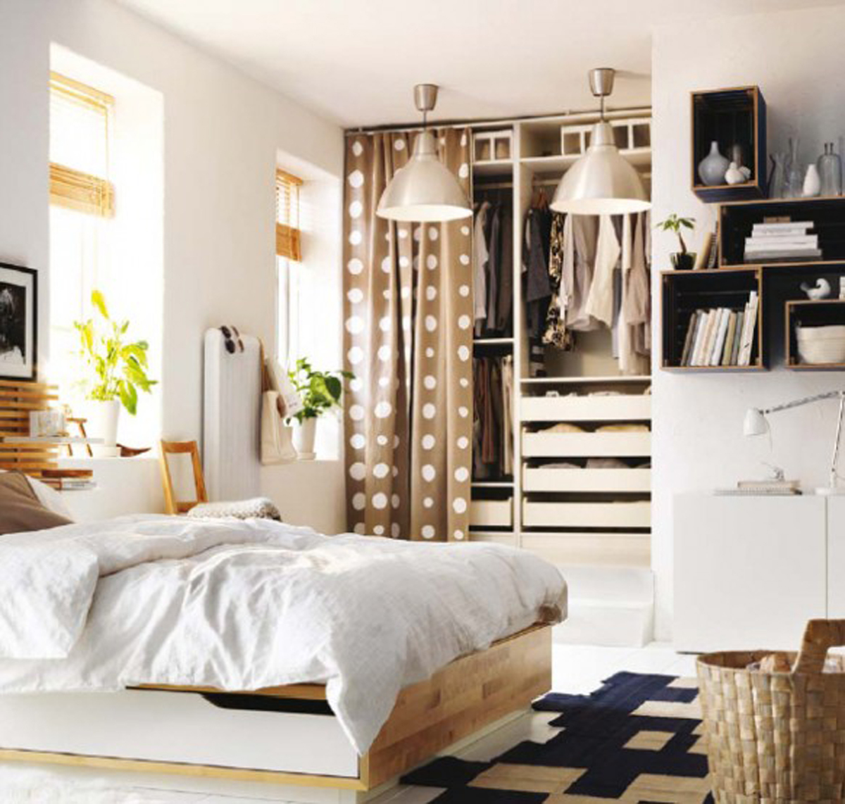 Contemporary IKEA Bedroom Furniture Ideas
