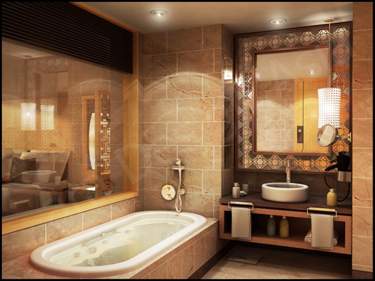Luxury bathroom interior planer for Best bathroom interior
