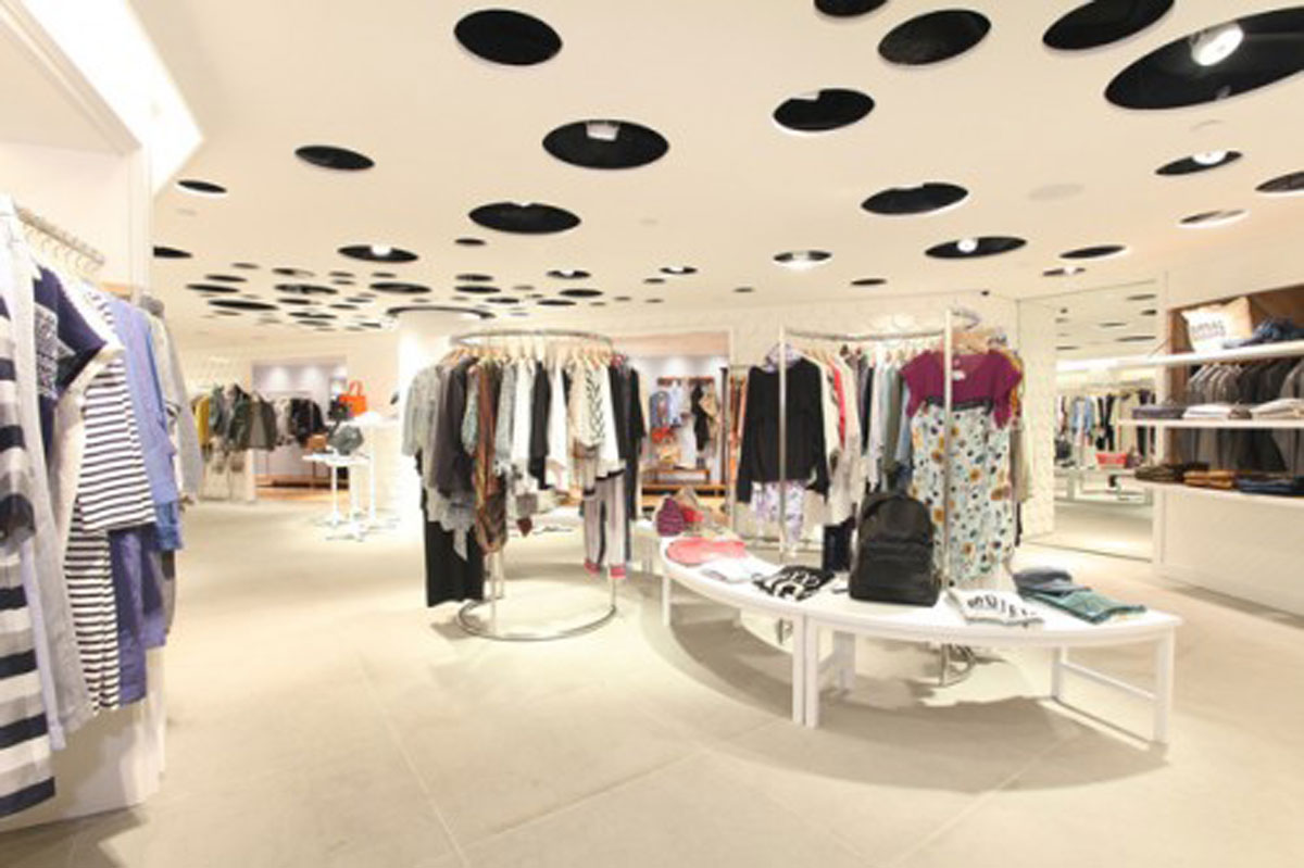 Clothing Store Interior Design Ideas